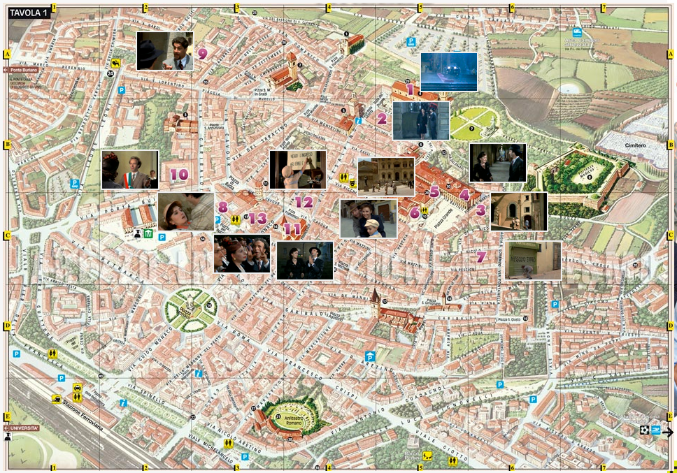 map La vita è bella
