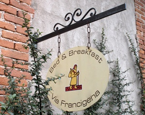B&B langs via Francigena
