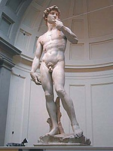 David in Galleria dell'Accademia Firenze