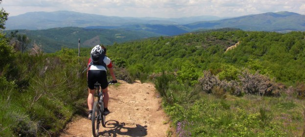 mountainbike Chianti